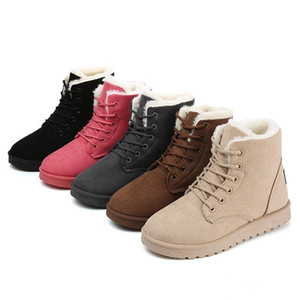 Winter snow boots cotton shoes women Fashion warm