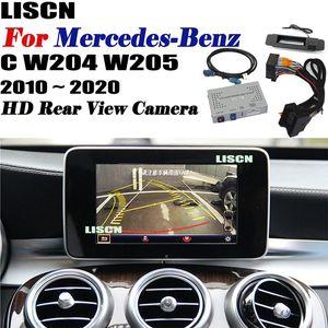 Front Rear Camera For C W204 W205 2010 ~ 2020 backup Camera Interface Original screen Adpter Reversing DVR car