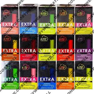 Top Fume Extra 1500 Puffs Disposable Vape Pen Kit 850mAh Battery Pre-Filled 5ml Pods Cartridges Vapors Device e Cigs Vaporizer Starter Kits