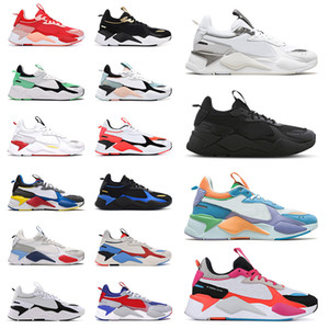 Scarpe Puma RS X 2021 New Mens Running Shoes Reinvenzione Cool Black White Creepers dad Chaussures Uomo Donna Runner Trainers Sneakers sportive Taglia 36-45 off white