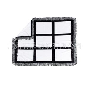 DIY Decke Teppich Baby Sublimation Leere Quasten 83 * 110cm Mode Druckbild Zubehör Frau Mann Decken im Freien 26 41YP K2