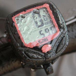 Computador elétrico da bicicleta da bicicleta impermeável LCD Velômetros de odômetro impermeável digital