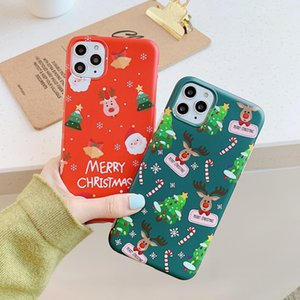 Telefono cellulare NUOVO PER IPHONE 12 MINI 11 PRO X XS MAX 8 7 6 PLUS Cartoon Creative Designer Designer Back Cover Lusso TPU Regali di Natale