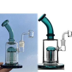 smoking bong parts hitman beaker bong oil reclaim catcher arm tree perc heady oil rigs thick glass water bongs bubbler hookahs pipe