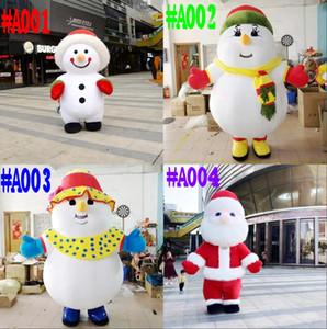 3m de santa claus de santa claus bonhomme de neige mascotte mascotte adulte robe de Noël fête de Noël kawaii mascotte costume carnaval costumes libres shippin