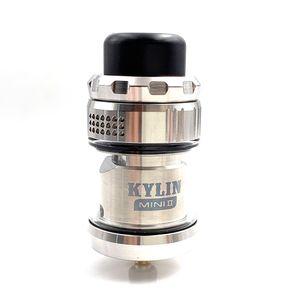 Лучшая цена Kylin Mini V2 RTA Распылитель 24,4 мм Clapton Single Coil 3ML / 5ML Top Airflow Tank Electronic сигарета 510 нить Vape Mod
