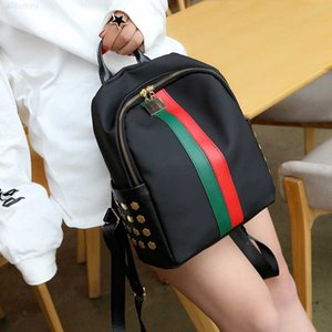 fashion women's bag New color style bar Pu Backpack