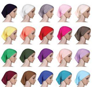 Muslim Women Inner Hijab Headscarf Cap Islamic Underscarf Hats Hot Ninja Scarf Ramadan Stretch wmtWJg dayupshop