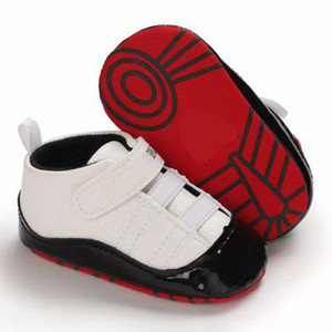 NEW Kids First Walkers PU leather Baby Girls Infant Toddler Classic Sports Anti-slip Soft Sole Shoes Sneakers Prewalker wholesale P21