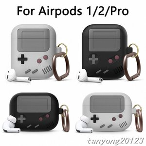 Silicone Earphone Case For Airpods 1 2 3 Protective Case For Apple airpods Pro Wireless Bluetooth 3D Game Console Shockproof Cover