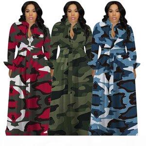 autumn dress long sleeve plus size maxi womens dresses party evening club dress one piece set fashion print hot selling women dress klw2871
