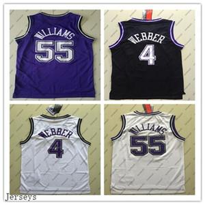 2020 Kings Kings.Sacramento.55.Williams 4 Webber High School Chris Jason Jersey College Basket Banker Maglie