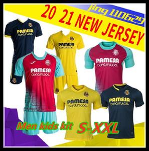 NCAA kids kit Men 2020 Villarreal CF S.CAZORLA Soccer Jerseys 20 21 Home CHUKWUEZE FORNALS Soccer Shirt PEDRAZA MORENO EKAMBI IBORRA Footbal