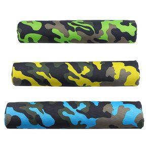 Camouflage Bart Mat Fitness Barbell Squat Pad Толстая сверхмощная пена ополосняющаяся шеи плечевые защитные подушки