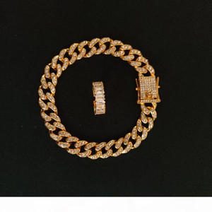 Luxury Diamond Jewelry Sets Crystal Designer Bracelet Brand Retro Necklace Set Wheat Brand Earring Studs Set