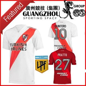 2020 2021 River Plaque Jersey Man Kids de la Cruz Quintero Football Jersey Borre Fernandez Version Pratto Jersey Jersey Camiseta de