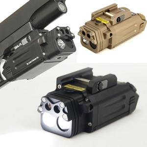 Combo Tactical DBAL IR Red Laser Airsoft Светодиодный фонарик Пейнтбол Охота Охотничьи Пистолет Пистолет Оружие Свет