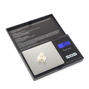 Pocket Digital Scale Argent Coin Gold Diamond Bijoux Poids Poids Poids Balance 4 Spécification Aucune batterie