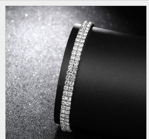 Sparkly Crystal Rhinestone Stretch Anklet Hot Sale Summer Beach Barefoot Sandal Ankle Chain Anklet Foot Jewelry For Women Ps1802 jllzcJa