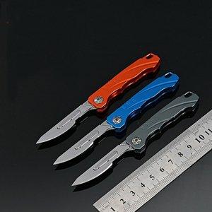 Alüminyum Alaşım Katlanır Bıçak EDC Çok fonksiyonlu Aracı Taşınabilir Sanat Bıçağı Açık Acil Tıbbi Bıçak