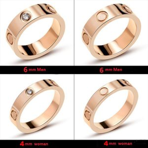 With LOGO and Original box screws screwdriver designer rings for mens and women party wedding couple engagement lovers gift luxury jewelry