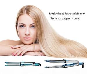 Hot optima 3000 hair straightener PRO Na-No TITANIUM plate Flat Iron Ionic