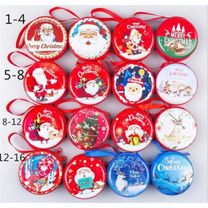 Mini Tin Sealed Jar Small Storage Cans Baroque for Kid Packing Xmas Candy Christmas Coin Earrings Headphones Gift Box