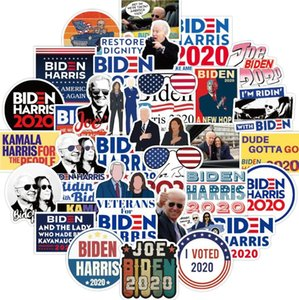 Car Sticker Biden Harries Letters Stickers USA President Election Joe Biden Poster Notecase Decals Luggage Gita Paster 100pcs sets E111801