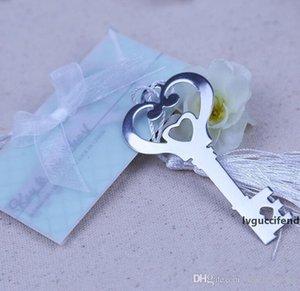 Anahtar Şekilli Bookmark Beyaz Püskül Tasarım Ile Bookmark Nefis Düğün Bebek Duş Parti Iyilik Hediyeler Iyilik