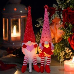 Sevgililer Günü Süslemeleri Parlayan Gnomes Yüzsüz Bebek Sevgililer Günü Hediyeler Aşk Gnomes Dekorasyon Süs Bebek Bebek GWD4341