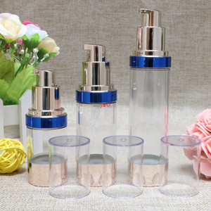 15ML 30ML 50ML Airless Lotion Pump Bottle Emtpy Refillable hand cream bottle lotion pump F20172137good qualtitygood shopping