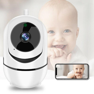 1080P HD WiFi Camera IP Mini Camera Indoor PTZ with Auto Motion Tracking Home Security Baby Monitoring IR CCTV Cameras