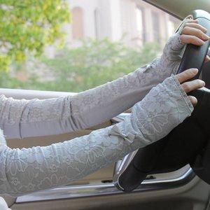 Verão Especial Condução Long Arms Proteção UV Ms Manga Renda Fina Com Luvas 99% Proteção UV Elétrica