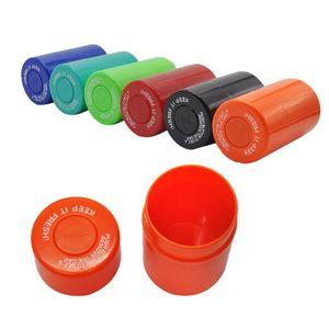 New plastic acrylic sealed can small vacuum cut tobacco storage box