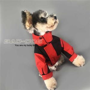 Trend Dog Manteaux Teddy Schnauzer Poméranien Vestes Voyage en plein air Walk Dog Pet Dress Up Dire les vêtements Livraison Gratuite