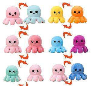 Reversible Octopu Stuffed Doll Soft Doll Toys Simulation Reversible Plush Toy Octopus Plush Doll Filled Plu bbyAfb yh_pack