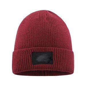 New Mens Beanie Winter Wool Hat New Fashion Womens Knitted Thicken Warm Polo Beanie Bonnet Cap EWF3241