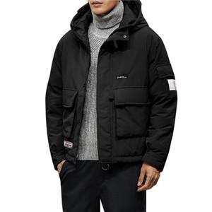 SAGACE autumn winter Jacket parkas men fashion trend thicken warm cotton Slim baseball coats size Down Warm Jacket outdoorA30107