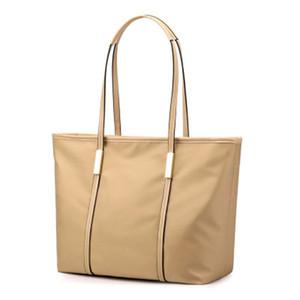 Famous designer design fashion new top women's one shoulder handbag leisure large capacity waterproof simple Oxford butot bag shopping bag