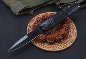 2019 Yeni Bıçak Bıçaklar Yan Açık Bahar Yasası Bıçak 5Cr13MOV 58HRC Stee + Alüminyum Kolu EDC Katlanır Cep Knife Survival Dişli