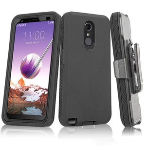 For Samsung A11 A21 A51 S20 iPhone 12 11 pro XS Max 7 8 Plus 6s Defender Case Armor Holster Cover Moto E 2020 with Belt Clip