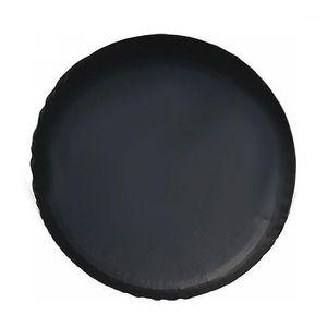 Couvertures de pneu Épaisies Stockage durable en cuir PVC Sac de protection de la poussière de la poussière Universal Coffre de rechange de roue solide Accessoires1