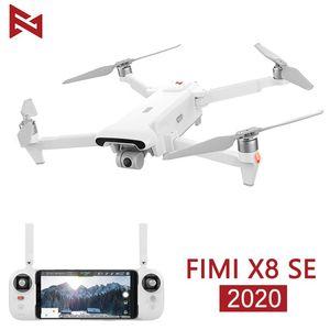 En stock FIMI X8 SE 2020 Cámara Drone RC Helicopter 8km FPV X8SE DRONE DRONE AXIS GIMBAL 4K CAMERA HDR Video GPS RTF 1 Batería LJ200827