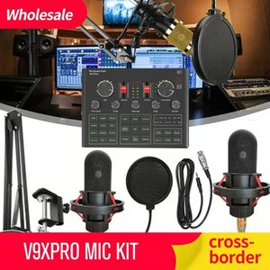 The Sound Card V9 X Pro K16 K18 K20 V9XPRO KIT BM800 Mobile computer general K song live Bluetooth wireless accompaniment