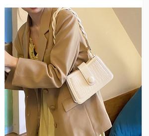 PU WOMEN bag 2020 new small square bag messenger shoulder bag TOTES