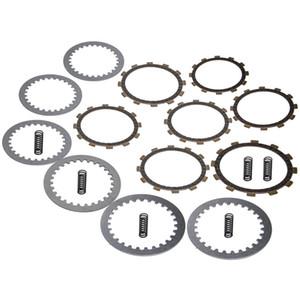Clutch Kit Heavy Duty Springs Friction Discs Separator Plates for Yamaha ATV Raptor 350 2004-13 Big Bear 350 1987-1993 Warrior 350 1987-2004
