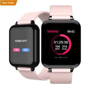 B57 Smart Watch Blood Pressure Oxygen Fitness Bracelet Watch Heart Rate Monitor IP67 Men Women Sport Smartwatch