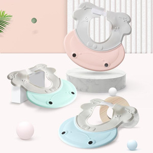ONEISALL Adjustable Baby Shampoo Cap Hat Toddler Kids Shampoo Bathing Shower Cap Wash Hair Caps