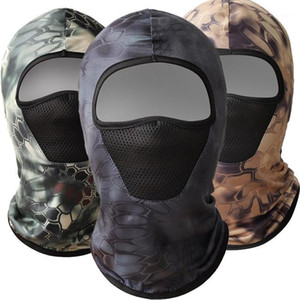Tactical Camouflage Balaclava Full Face Mask CS Wargame Army Hunting Cycling Sports Helmet Liner Cap Multicam CP Scarf1