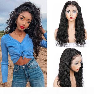Human Hair 360 Lace Wigs Pre Plucked Natural Wave Peruvian Brazilian Malaysian Indian Remy Hair lace front wig With Baby Hair